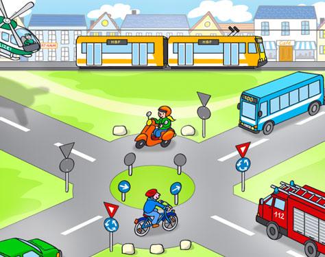 Hauptmenue Stadt Verkehr