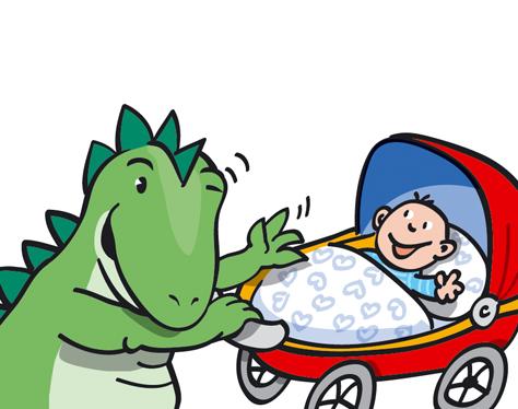 Dino Baby Kinderwagen