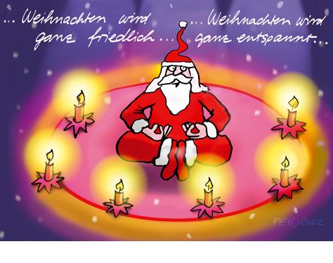 Weihnachten wird ganz friedlich